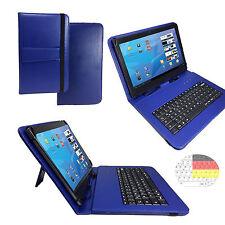German Keyboard Case Huawei MediaPad M3 8.0 zoll Tablet Case Qwertz Blue