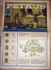 VEB Petkus Landmaschinenwerk Wutha Werbung Prospekt 1967 Maschinenbau DDR