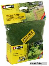 Noch HO O 07114 Static Wild Grass XL LONG Bright Green 12mm 1.4oz *NEW $0 SHIP