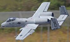 "Large 1/8 Scale A-10 THUNDERBOLT scratch build R/c Plane Plans 75""ws DUCTED FAN"