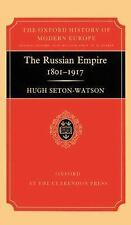 The Russian Empire 1801-1917 (Oxford History of Modern Europe)