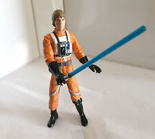 LUKE SKYWALKER w/CUSTOM BLUE LIGHTSABER • C9 • STAR WARS A NEW HOPE
