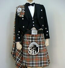 15 Pcs | Scottish Prince Charlie Jacket and KIlt outfit set | PCJK15 | Geoffrey