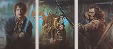 "The Hobbit Desolation of Smaug - ""Triptych Collage"" Set of 3 Chase Cards #CP1-3"