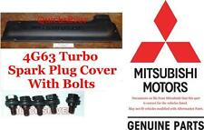 1995 99 Mitsubishi Eclipse GS-T GSX 4g63 Turbo Spark Plug Cover & Bolts New OEM