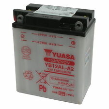 Batteria Originale Yuasa YB12AL-A2 + Acido Peugeot Satelis 125 2006 in poi