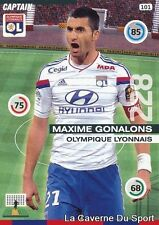 101 MAXIME GONALONS FRANCE OL OLYMPIQUE LYON CARD ADRENALYN 2016 PANINI
