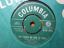 """Frank Ifield """"She Taught Me How To Yodel"""" Great UK 7"""""""