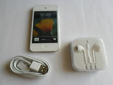 Apple iPod Touch 4th generación blanco (32GB) Buenas Condiciones Con Accesorios Idea de Regalo