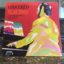 OG Dick Hyman Concerto Electro LP Vinyl Ambient Moog Steve Reich Weissman