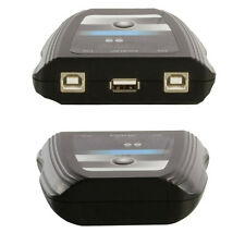 2-port/way Usb Caja de interruptor-Pc Hub Selector splitter-share dispositivos Impresora Camer