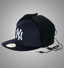 NEW Era 59 fifty New York Dog Ear Cuffie piatto picco Bucket Hat/Cap