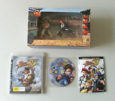 PS3 Street Fighter IV Collector's Edition Game Figures Blu-Ray Movie Hint Book