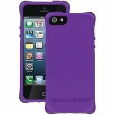 NEW Ballistic Sleek Slim Bumper Case Cover for iPhone 5/5s Purple