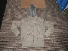 Next SP Padded Camoflage Large Mens Casual Hooded Zip Up Top