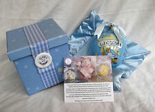 Cute as a Button Little Star Outreach Grandson Bauble & Blanket in Gift Box