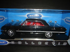 Welly Chevrolet Impala Hardtop 1963 Black 1/18 Package different than picture