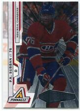 2010-11 Pinnacle Rink Collection 218 P. K. Subban Rookie