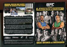 UFC: ULTIMATE FIGHTER SEASON 1 (DVD, 2007, 5 DISCS) BRAND NEW SEALED - FREE SHIP