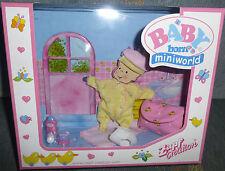 Baby Born Miniworld Wickeltasche Wickeltaschenset