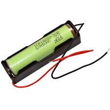 Batteriehalter für 18650 Zelle für Akku Halterung mit Kabel 1x 18650