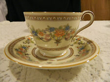 "Aynsley Bone China ""Devonshire"" Teacup and Saucer"