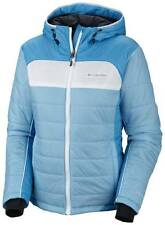 COLUMBIA WOMENS JACKET SHIMMER FLASH WINTER SNOW SKI NWT OMNIHEAT SIZE L BLUE