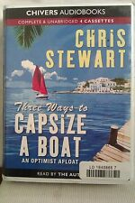 Three Ways to Capsize a Boat by C Stewart: Unabridged Cassette Audiobook (NN3)