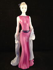 BEAUTIFUL COALPORT LADIES OF FASHION FIGURINE - CAMILLA