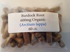 Burdock Root Organic Vegan Capsules 60 ct.