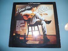 Various – I Love The Blues 1992 Comp 2 X LP Muddy Waters Santana Tom Waits