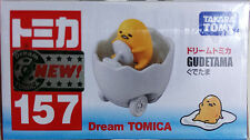 Takara Tomy Dream Tomica #157 Gudetama Diecast Toy Car JAPAN Sanrio FS