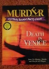 Murder Mystery Dinner Party Game Death in Venice