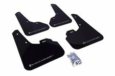 Rally Armor Black Mud Flap w/ Silver Logo For 2010+ Mazda3/Speed3