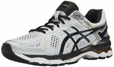 ASICS Men GEL Kayano 22 Silver Black Gold Running Shoes Size 8 New!