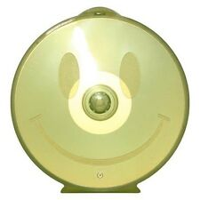 100 5mm CD DVD R Disc Clam C Shell PP Poly Plastic Case with Happy Face Design
