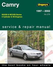 Gregory's Service Repair Manual Toyota Camry 1997-2002 OWNERS WORKSHOP
