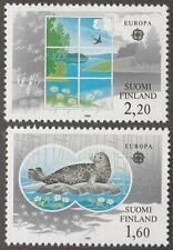 Finland #735-36 MNH Europa set Seal 1986 cv $10.50
