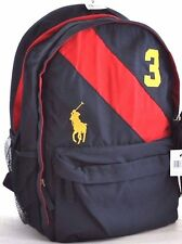 NWT POLO RALPH LAUREN BIG PONY SASH BOY BACKPACK SCHOOL GYM SPORT