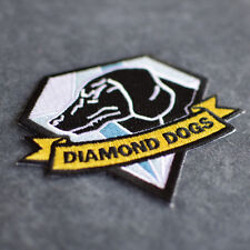 Metal Gear Solid 5 - Diamond Dogs Iron On Embroidered Phantom Pain Logo Patch