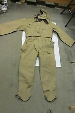 VINTAGE COLD WAR ERA CZECH TANKER COVERALLS AND HELMET CZECHOSLOVAKIA TANK