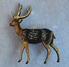 Woodland Stag Brooch or Scarf Pin Accessories, Jewelry Fashion Accessories new