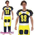 Mens American Football Player NFL Footy Scores Fancy Dress Costume
