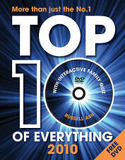 Top 10 of Everything 2010: Discover More Than Just the No. 1! Russell Ash Very G