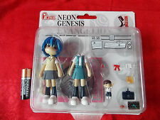 "NEW! REI AYANAMI EVANGELION / PVC SOLID FIGURE 4"" 10cm KAIJU MANGA / UK DESPATCH"