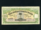British West Africa:P-7b,10 Shillings,1941 * Palm Tree * WWII Issue *