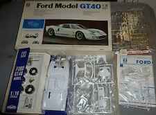 Alter Bandai Bausatz 1/16 Ford Model GT 40 in OVP 6031 Unbenutzt !