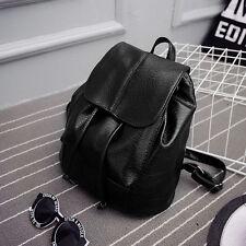 Women's Pu Leather Backpack Travel Handbag Rucksack Shoulder School Bags
