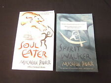 SPIRIT WALKER + SOUL EATER MICHELLE PAVER ORION 2005 2006 UNCORRECTED PROOF