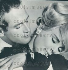 1964 Actors Paul Newman Elke Sommer in The Prize Press Photo